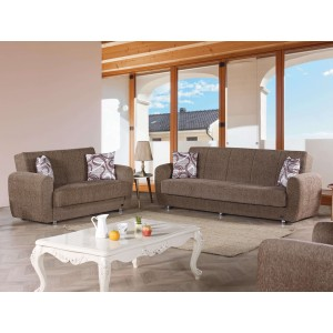 Colorado Fabric Storage Living Room Set