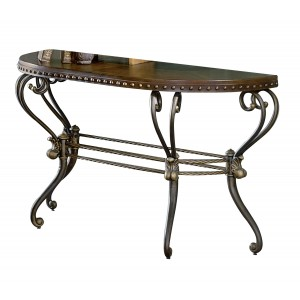 Copeland Console Table by Homelegance