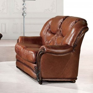 67 Leather Loveseat by ESF Furniture
