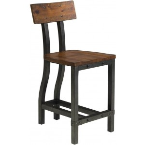 Holverson Industrial Counter Chair