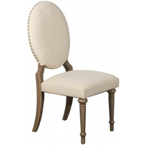 Avignon Transitional Fabric Side Chair