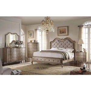 Chelmsford Wood/Fabric Panel Bedroom Set