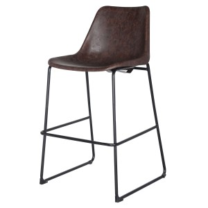 Delta PU/ABS/Steel Counter Stool