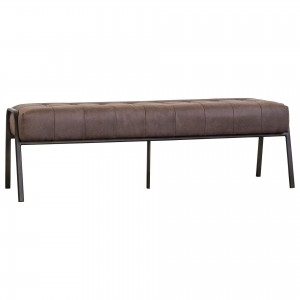 Venturi PU Tufted Bench