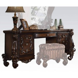 Versailles Vanity Desk, Cherry by Acme Furniture