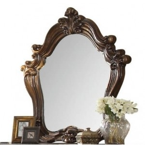 Versailles Wood Beveled Mirror