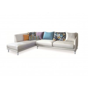 Allison Sectional w/Pillows, Left Arm Chaise Facing by New Spec