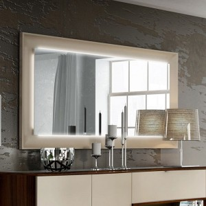 Argentina Modern Buffet Mirror w/Light by Fenicia Mobiliario, Spain