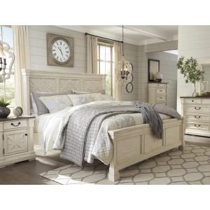 Ashley SM Bolanburg Wood Panel Bedroom Set