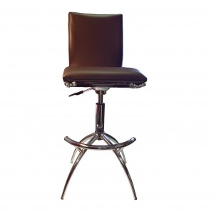 60 Barstool, Set of 2, Brown by New Spec