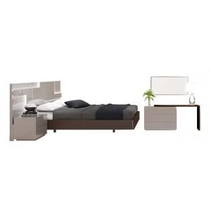 Maratea Modern Bedroom Set with Lighting