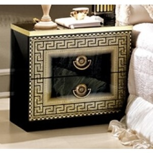 Aida Wood Veneer Nightstand