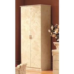 Barocco Wood Wardrobe w/2 Doors