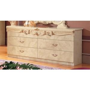 Barocco Wood Double Dresser