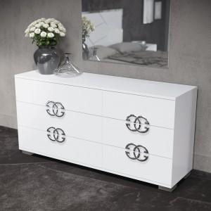 Dafne High Gloss Double Dresser