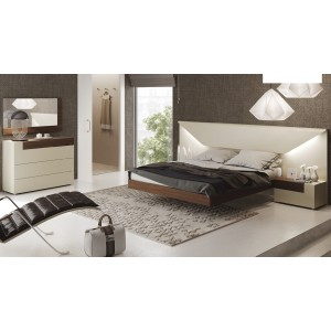 Elena LED Platform Bedroom Set