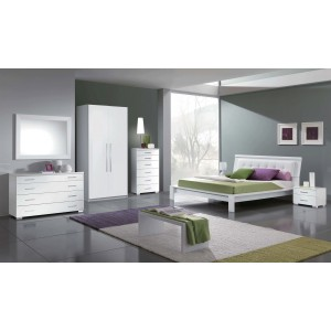 Geko Wood Platform Bedroom Set