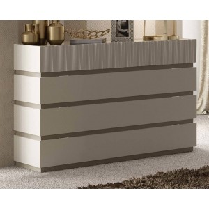 Marina Wood Veneer Single Dresser