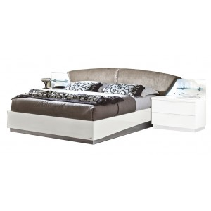 Onda Drop Eco-Leather Platform Euro Bed