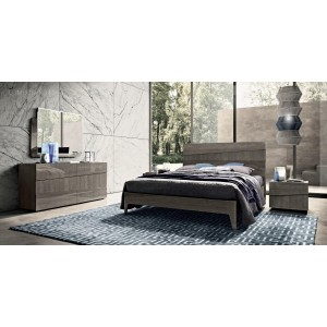 Tekno Wood Platform Bedroom Set