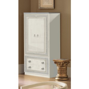 Aida Wood Veneer Wardrobe w/2 Doors