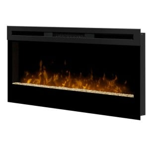 "Wickson 34"" Wall-Mounted Electric Fireplace by Dimplex"