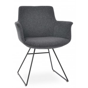 Bottega Arm Wire Dining Chair