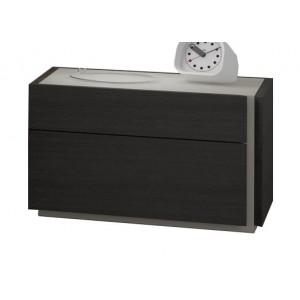 Faro Premium Wood Veneer Right Nightstand