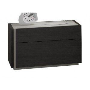 Faro Premium Wood Veneer Left Nightstand
