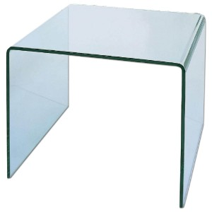 C26A Glass End Table