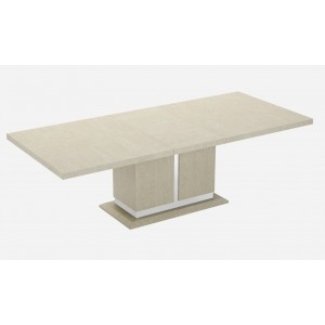Chiara Modern Wood Veneer Extendable Dining Table by J&M Furniture