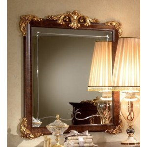 Donatello Wood Mirror