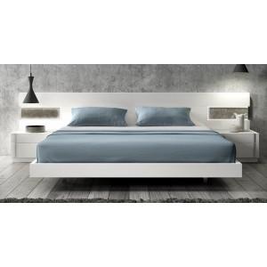 Amora Premium LED Platform Bed