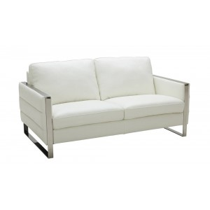 Constantin Premium Leather Loveseat