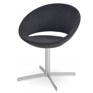 Crescent 4 Star Swivel Dining Chair