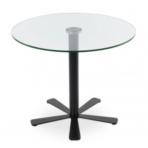 Daisy 5 Star Glass Dining Table