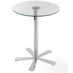 Daisy 5 Star Glass Counter Table