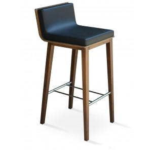 Dallas Wood/Plywood Bar Stool
