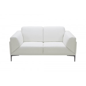 Davos Leather Loveseat