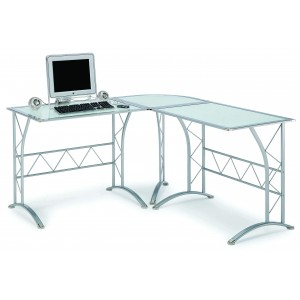 Desk-L Computer Workstation by New Spec Furniture