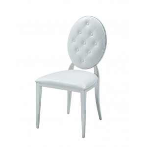 110 Modern Eco-Leather Dining Side Chair by ESF Furniture