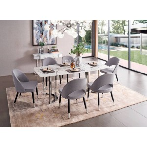 131 Modern Dining Room Set by ESF Furniture
