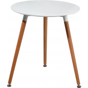 903 Modern RoundWood Dining Table by ESF Furniture