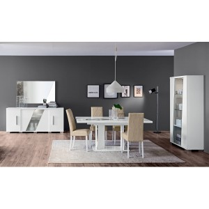 Lisa Contemporary Dining Room Set by Status, Italy