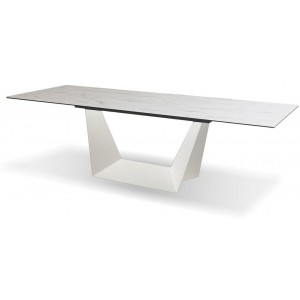 Origami Carrera Ceramic Top Extendable Dining Table