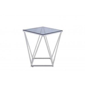 Rex Glass End Table by Homelegance