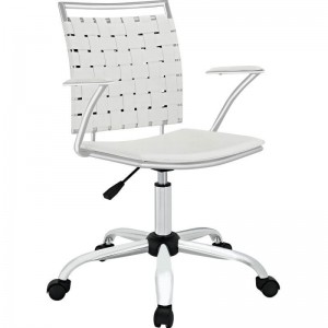 Fuse Office Chair, White by Modway Furniture
