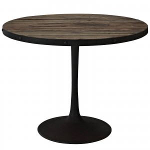 Drive Wood Top Dining Table, Brown by Modway Furniture