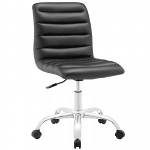 Ripple Mid Back Office Chair, Black by Modway Furniture
