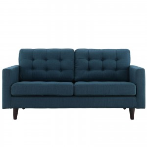 Empress Loveseat, Azure by Modway Furniture